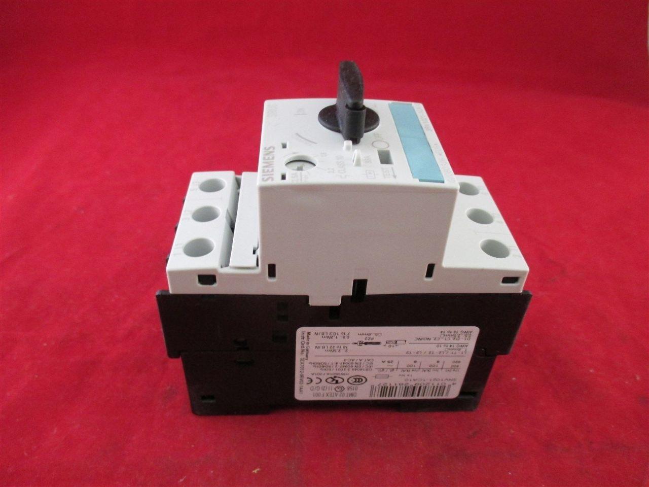 Siemens 3rv1021 1ca10 manual motor starter new process for Siemens manual motor starter