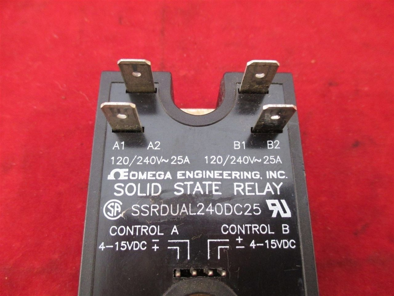 Omega Solid State Relay Ssr 240 45 Z240d10