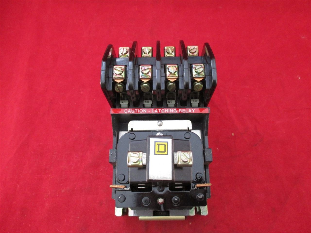 Square D 8501 HLO 40 Relay Process Industrial Surplus #AD1E32