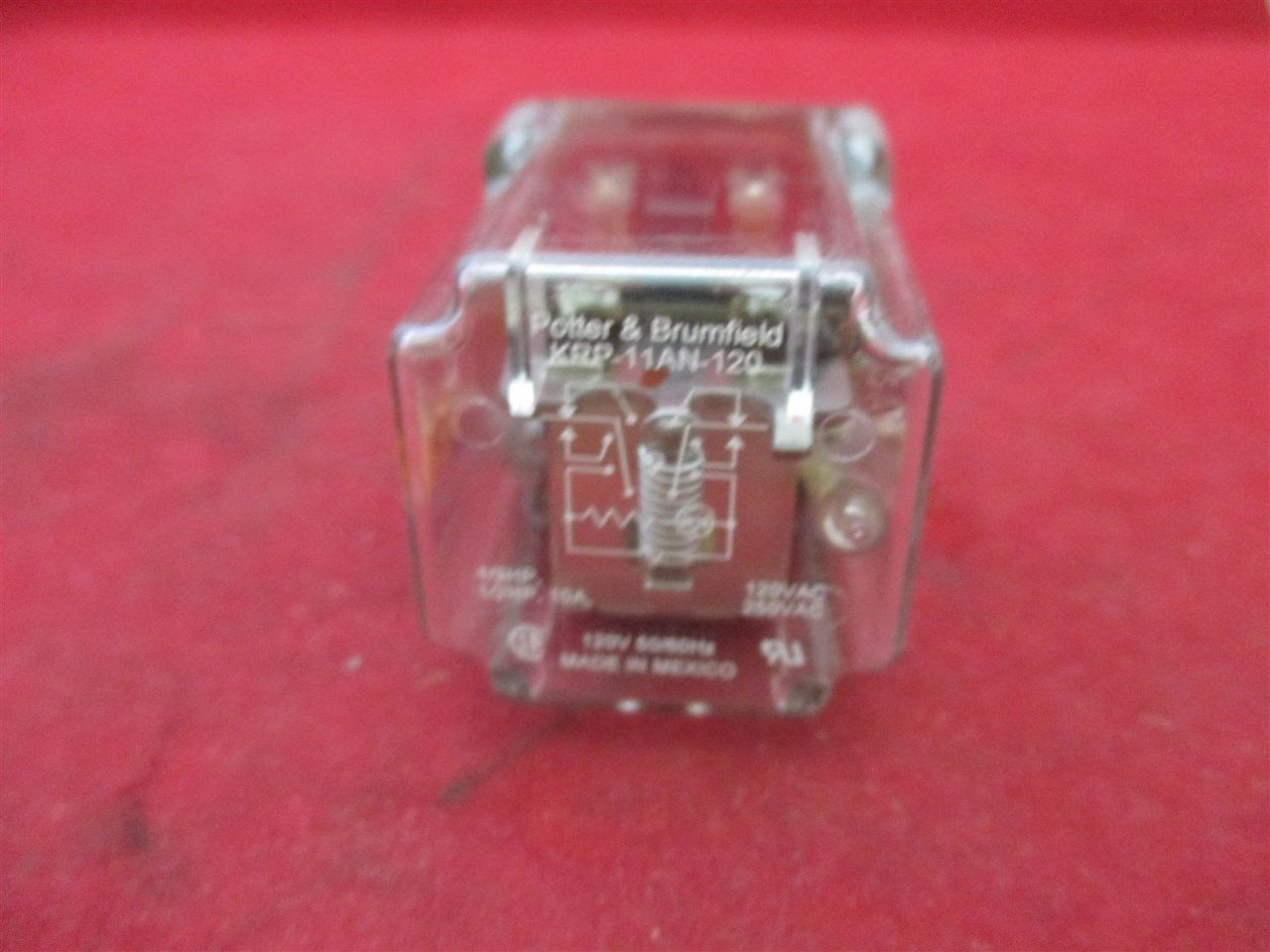 Potter Amp Brumfield Krp 11an 120 Relay Process Industrial