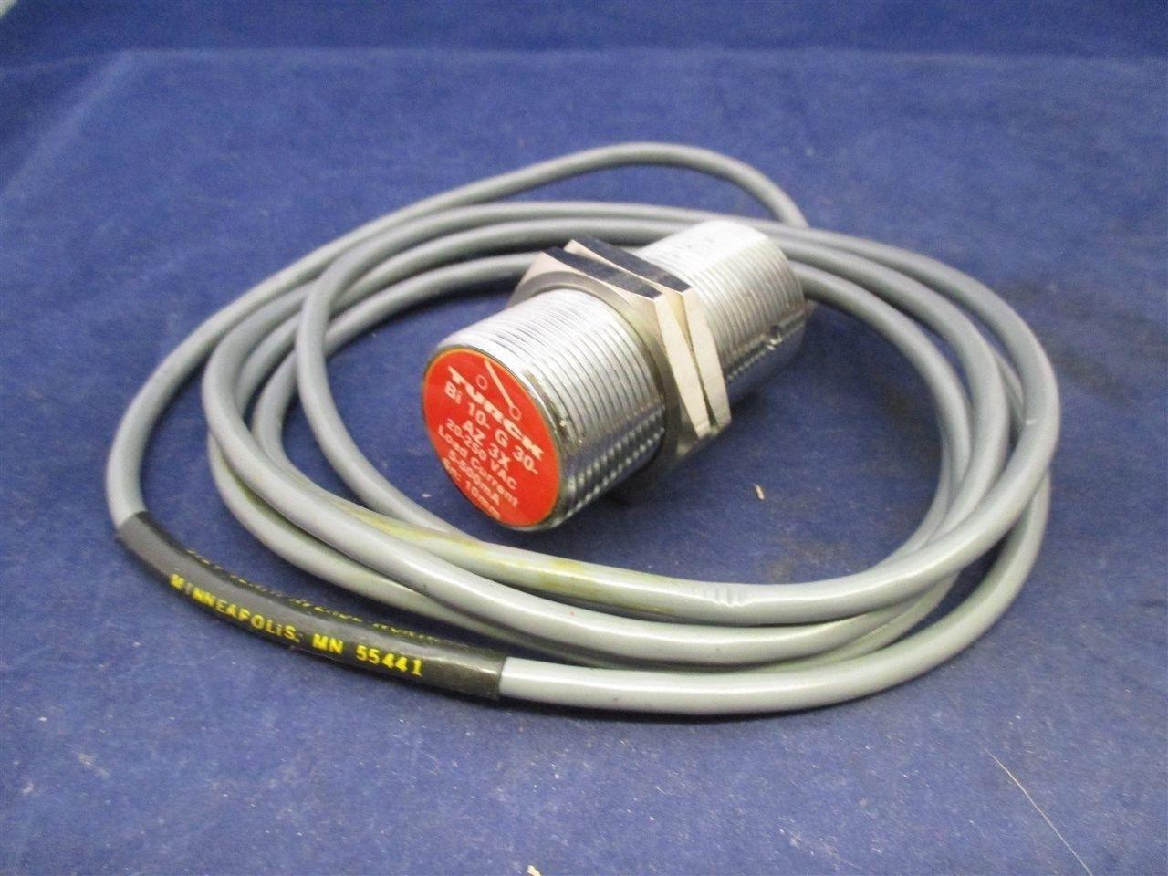 Turck Bi10 G30 Az3x Sensor Process Industrial Surplus Wiring Diagram
