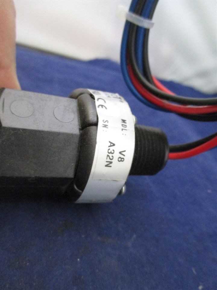 Flotect flow switch v a n process industrial surplus