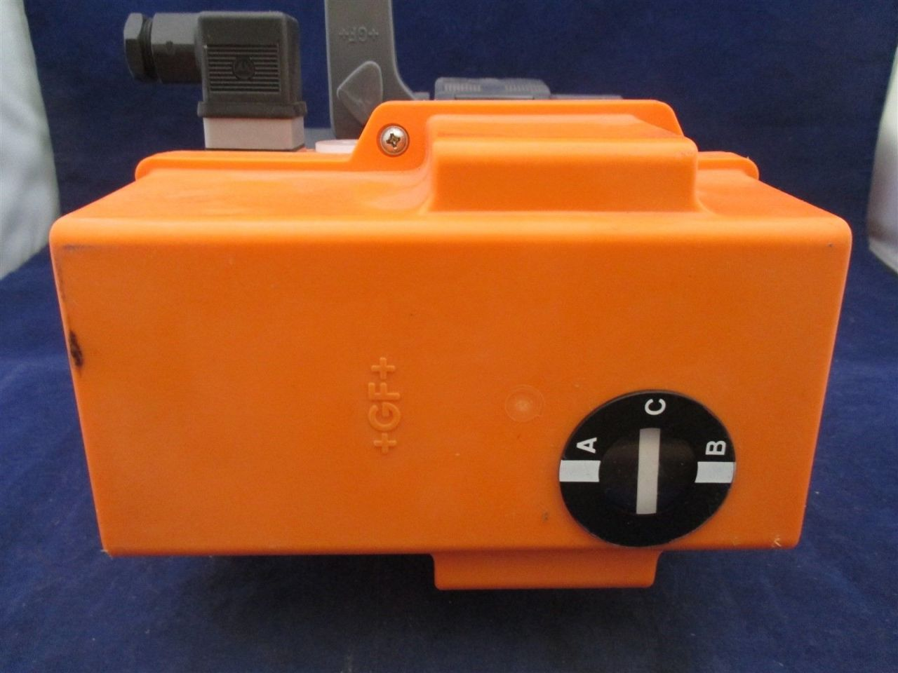 G F George Fischer Actuator Type Ea20 198 150 431 W Ball