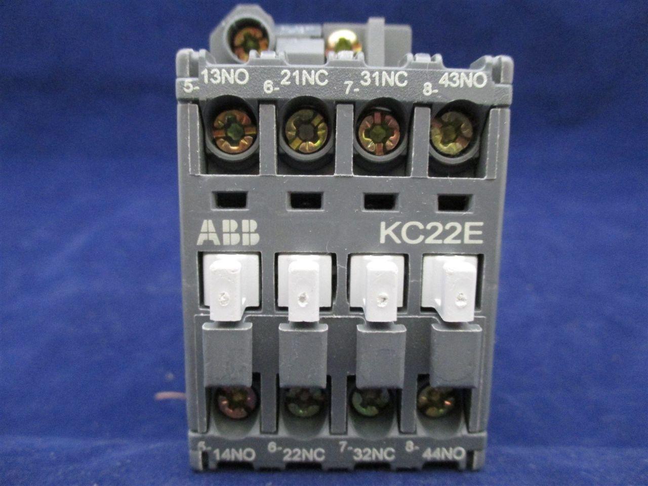 Abb Kc22e 01 Contactor New Process Industrial Surplus