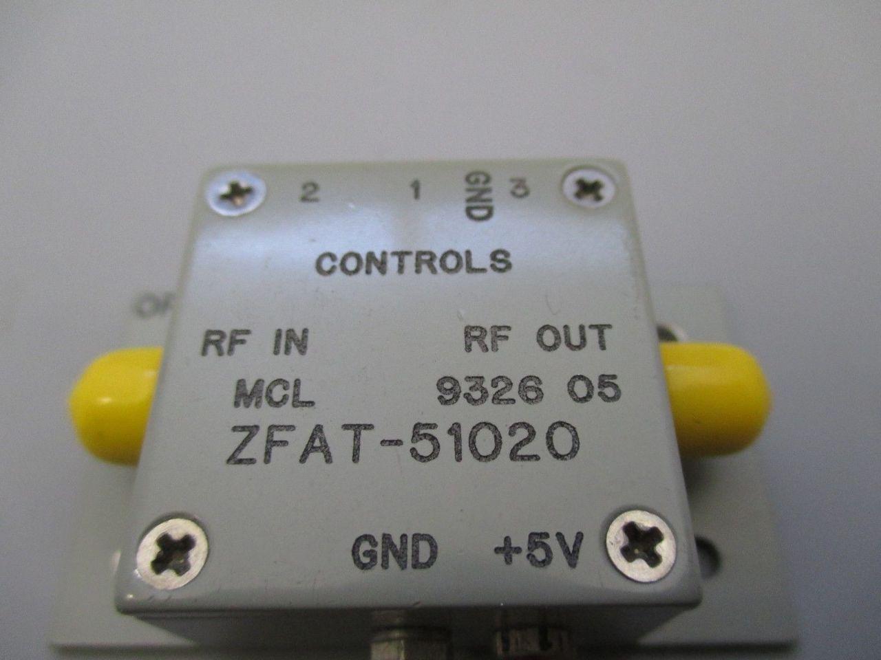 MCL Mini-Circuits ZFAT-51020 Attenuator | Process Industrial Surplus