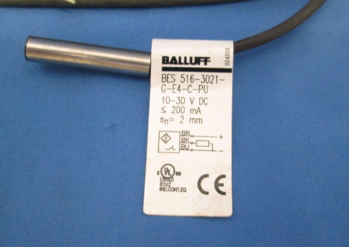 Balluff BES 516-3021-G-E4-C-PU Inductive Sensor | Process Industrial ...
