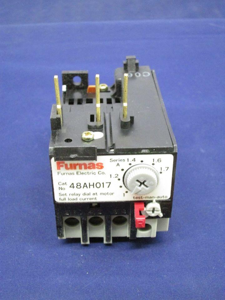 Furnas 48ah017 overload relay new process industrial surplus Motor overload relay
