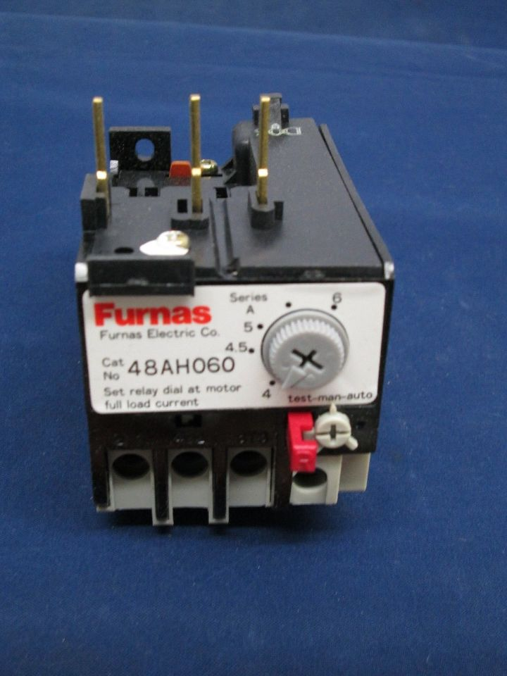 Furnas 48ah060 Overload Relay New Process Industrial Surplus
