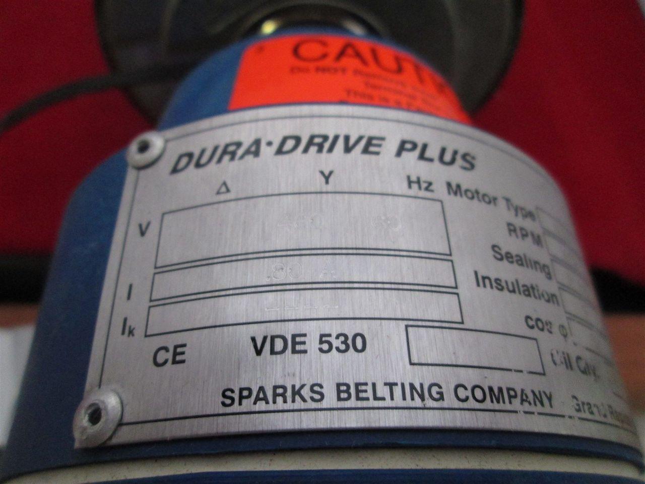 Dura Drive Plus Vde 530 17 72 Quot Conveyor Motor Process