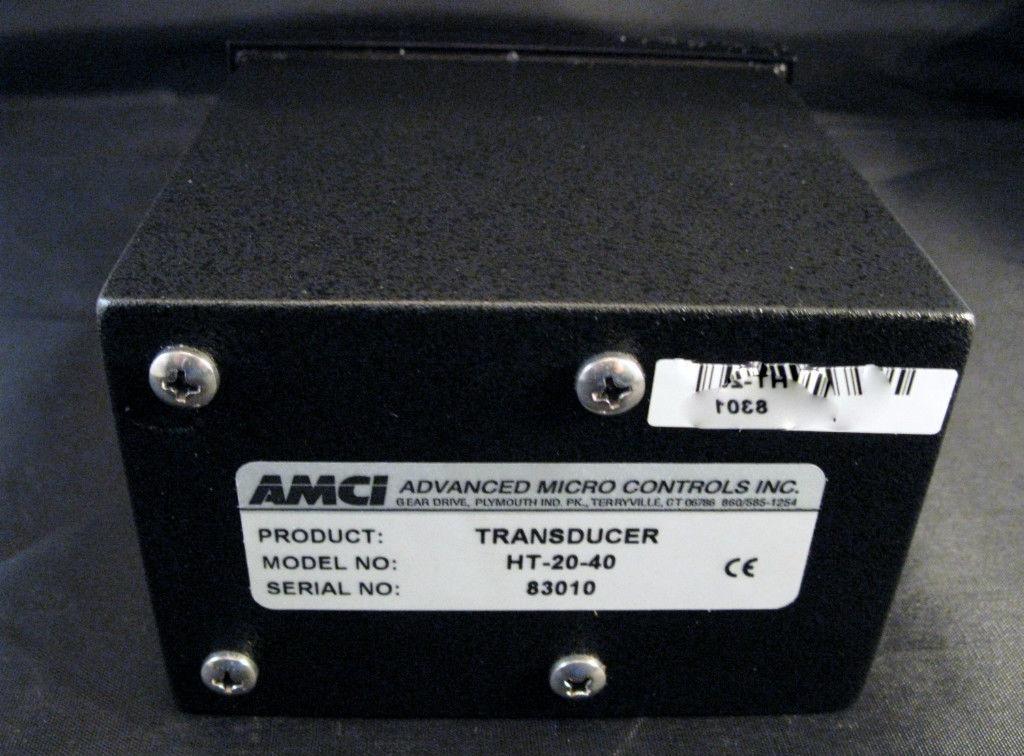 Amci Geared Resolver Transducer Ht 20 40 Advanced Micro