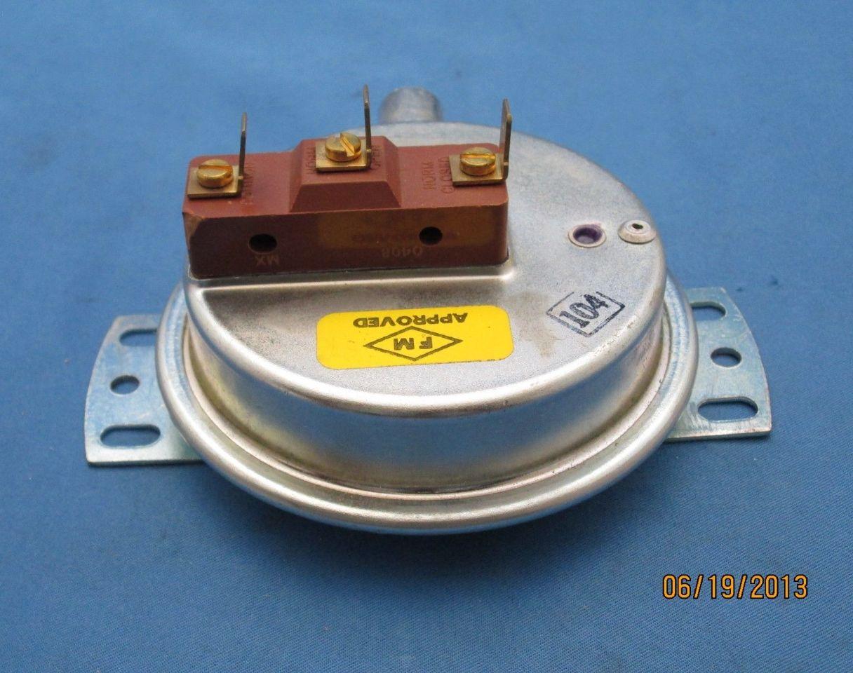 Honeywell fs  pressure switch process