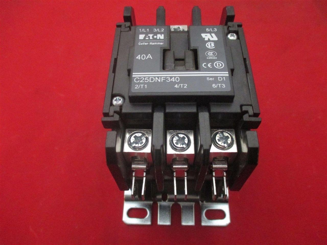 Cutler Hammer C25dnf340 Contactor Process Industrial Surplus