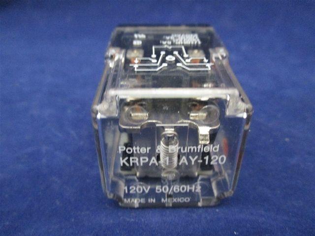 potter brumfield krpa 11ay 120 relay process. Black Bedroom Furniture Sets. Home Design Ideas