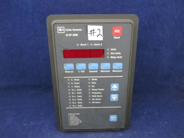 Cutler Hammer Westinghouse 8793c07g01 Iq Dp 4000 Power