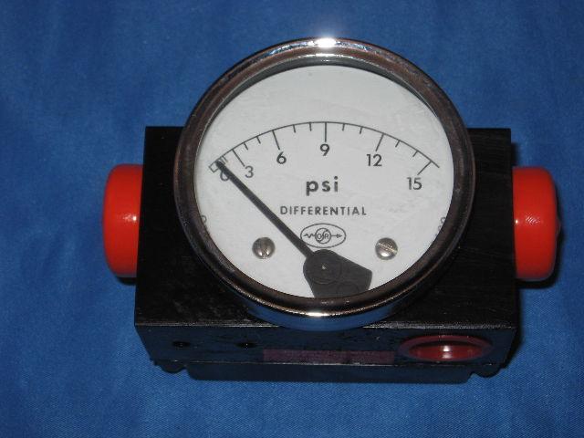 Orange Research Differential Pressure Gauge 1203pgs