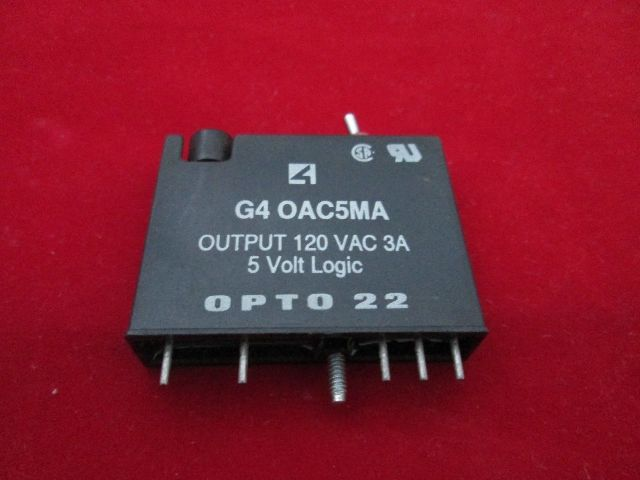 opto 22 g4 oac5ma relay process industrial surplus. Black Bedroom Furniture Sets. Home Design Ideas