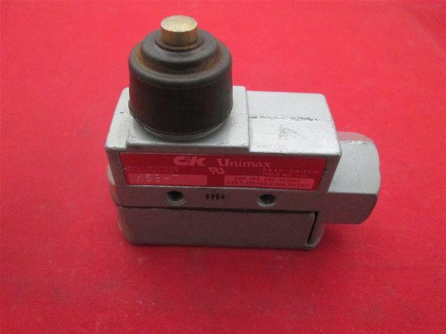 C Amp K Unimax Ksb T Limit Switch Process Industrial Surplus