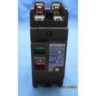 Mitsubishi NF30-SP-2P 10 amp No Fuse Circuit Breaker new