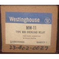 Westinghouse Thermal overload relay MW-11  MW11 new