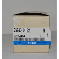 SMC Pressure Switch ZSE40-01-22L new