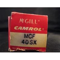 McGill Camrol Cam Follower Bearing MCF 40 SX new