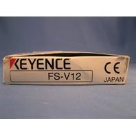 Keyence FS-V12 Fiber Optic Amplifier new