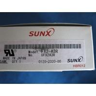 Sunx Fiber Optic Amplifier FX2-A3R  new