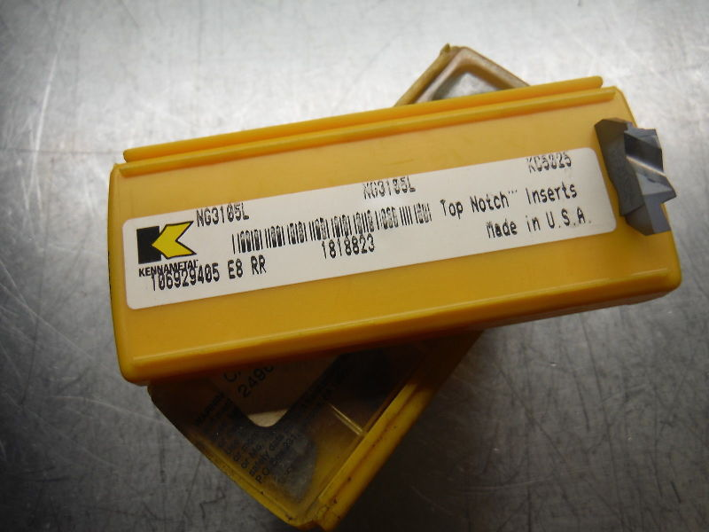 kennametal inserts. kennametal top notch carbide inserts qty 5 ng 3105l kc5025 (loc1028b) ts12 kennametal inserts t
