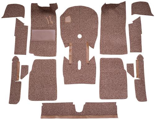 1966-1976 BMW 2002 2 Door Cut & Sewn BMW Material Factory Fit Carpet
