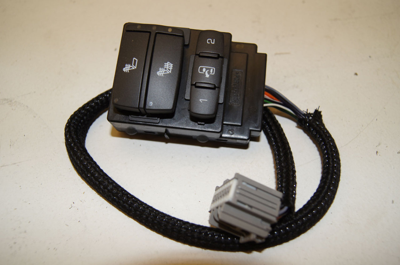 08 09 Hummer H2 Lh Drivers Side Door Panel Seat Heater