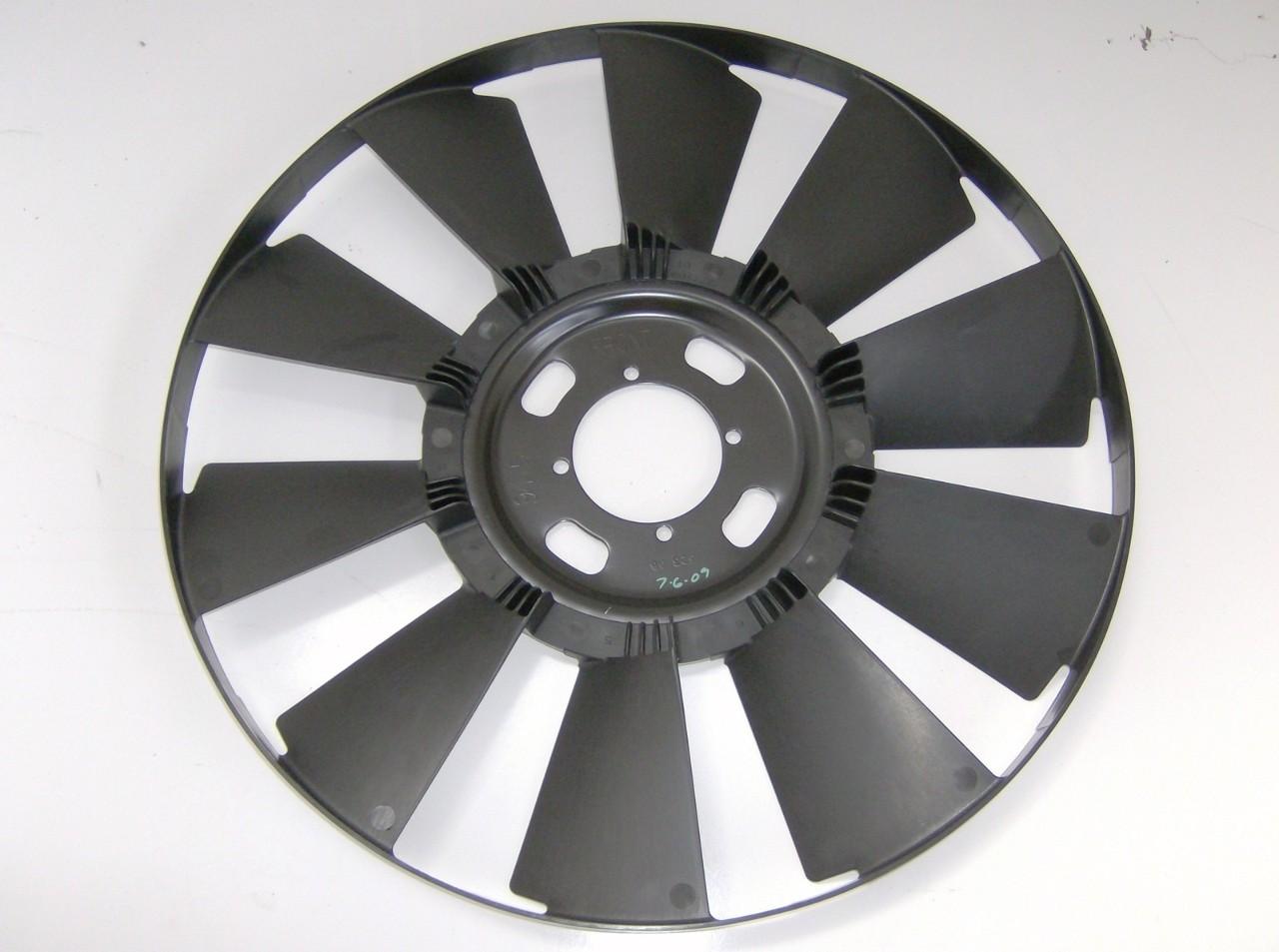 Motor Cooling Blades : Engine cooling fan blade c topkick l
