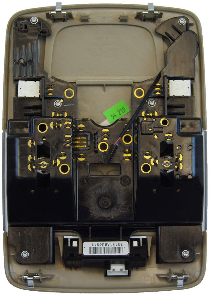 Auto Parts Interchange >> 2006-2011 Cadillac DTS Overhead Console Dome Light Shale 15291501 | Factory OEM Parts