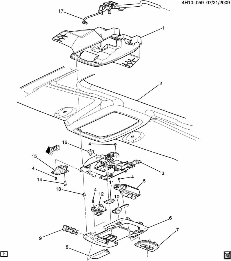 general motors location connector diagram