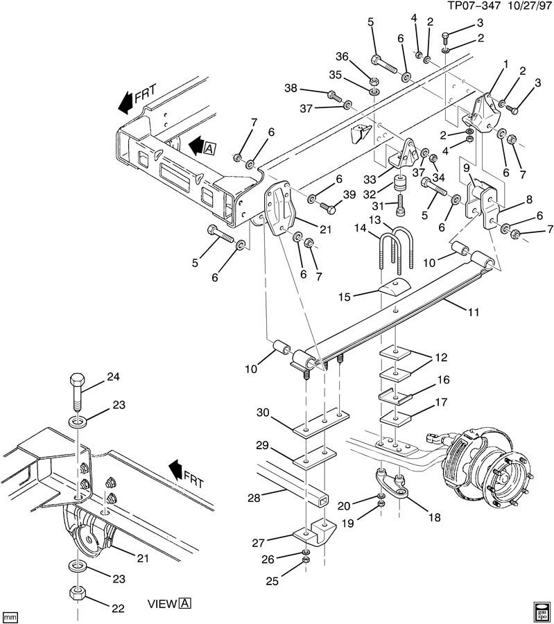 1990 gmc engine diagram
