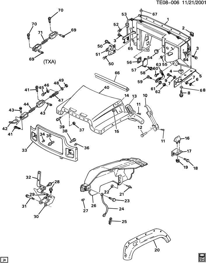 2008 saturn vue parts diagram