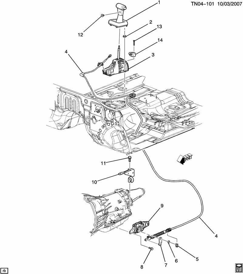 2009 Hummer H3 Transmission: 06 10 Hummer H3 Automatic Transmission Control 15823064