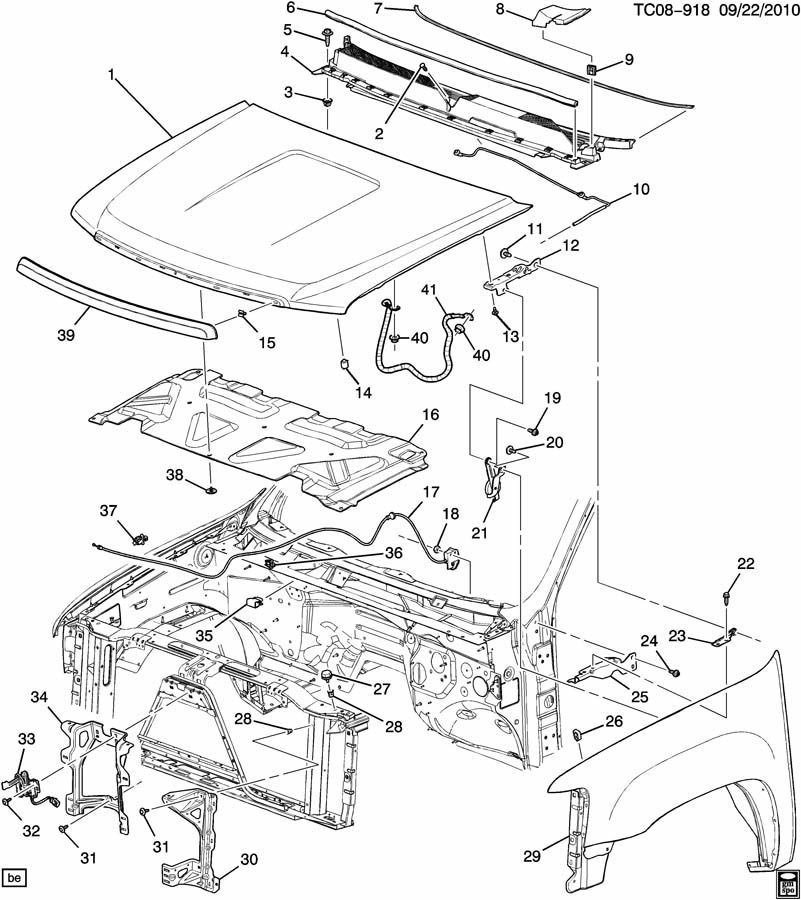 Gm 20763454 Hood Latch Switchsensor 07 11 Silverado Sierra Escalade Yukon 20763454 on 2005 Chevy Colorado Wiring Diagram Drivers Door
