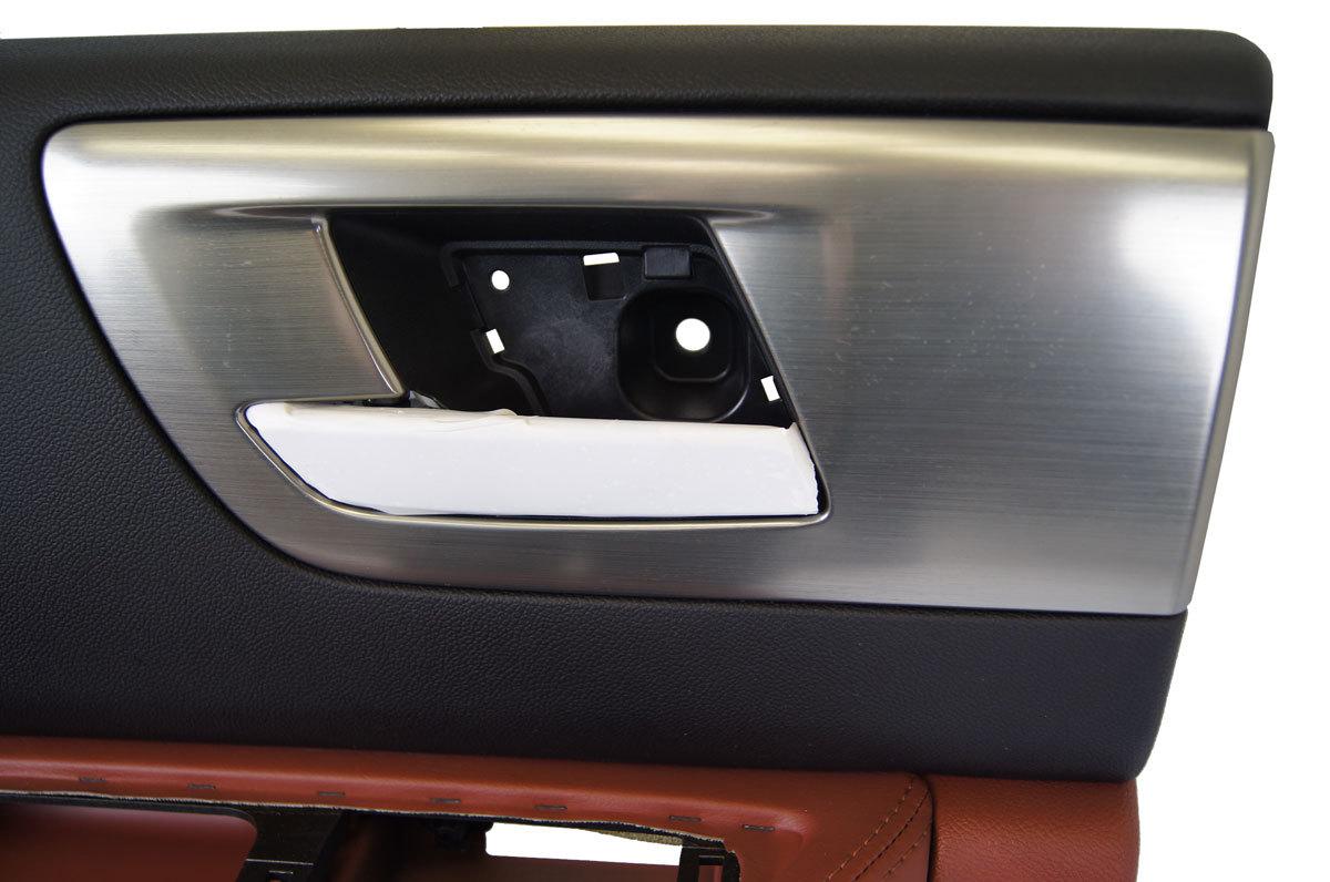 2008 2009 hummer h2 left rear door panel black brick new for New back door