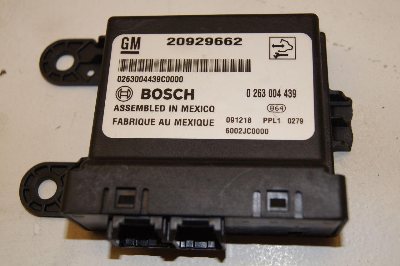 2010 Gm Parking Assist Module Bosch Broken Tab Factory