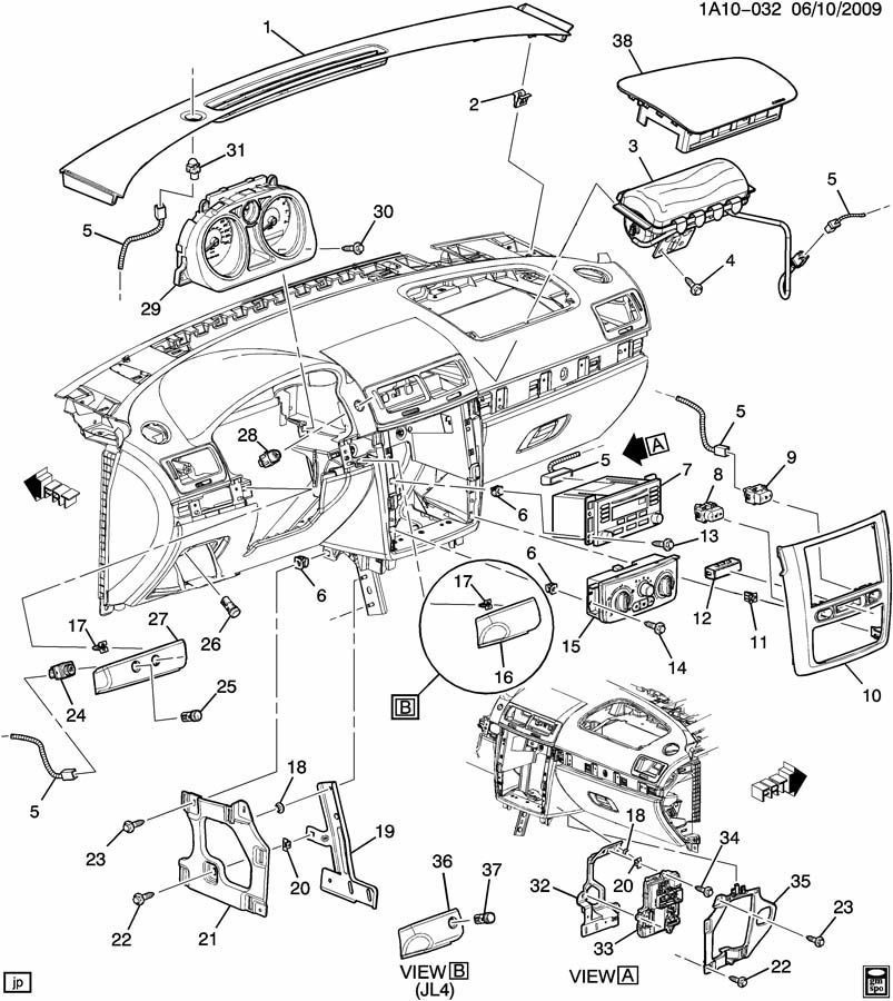 Pontiac Parts Diagram
