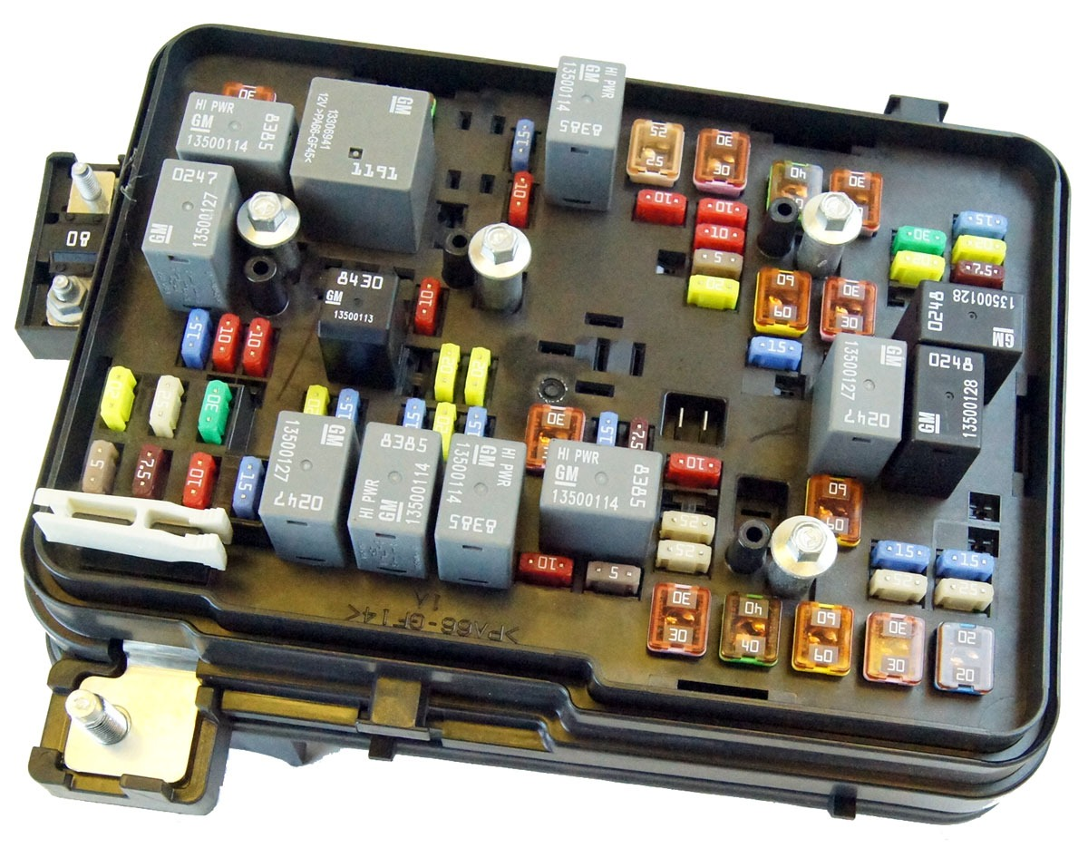 hummer h2 interior fuse box location