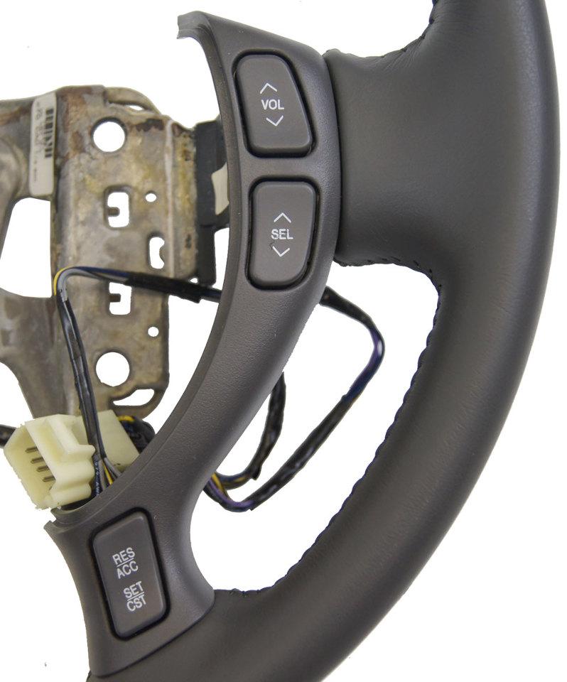 2002 2004 cadillac deville seville steering wheel dark. Black Bedroom Furniture Sets. Home Design Ideas