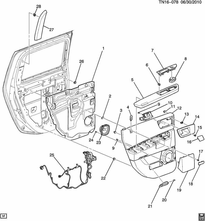 08 09 Hummer H2 Door Handle Armrest Trim Plug Brick Orange