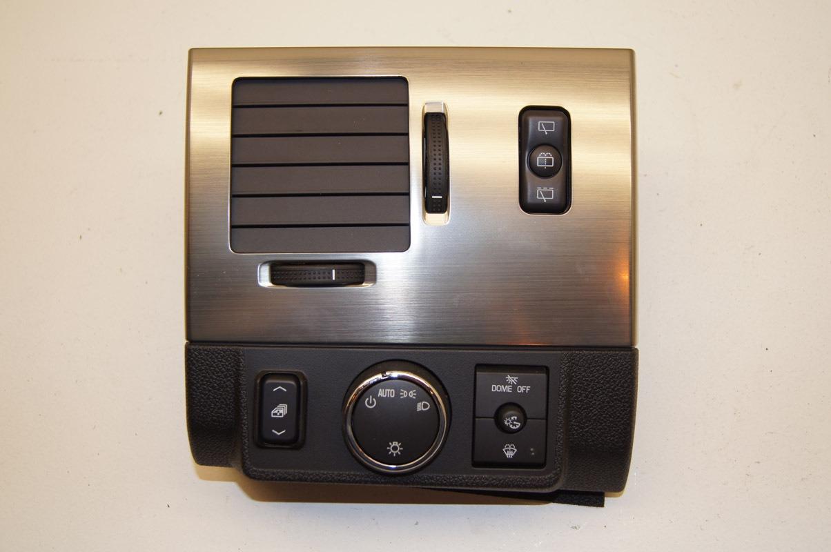 08 09 Hummer H2 Suv Headlight Switch Bezel Lh Vent