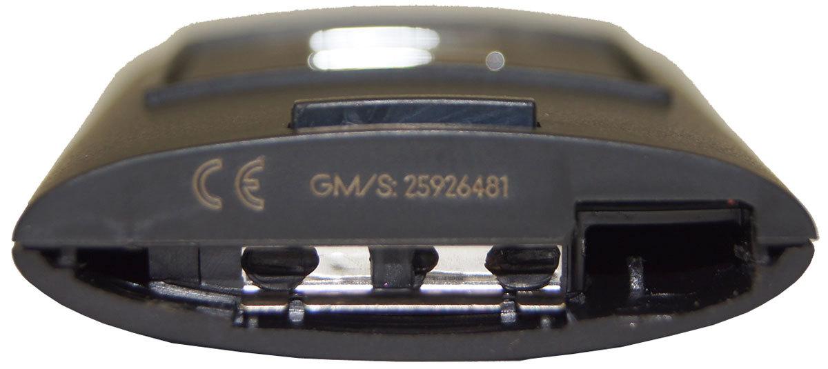 2008 2009 European Corvette C6 Export Key Fob Transmitter