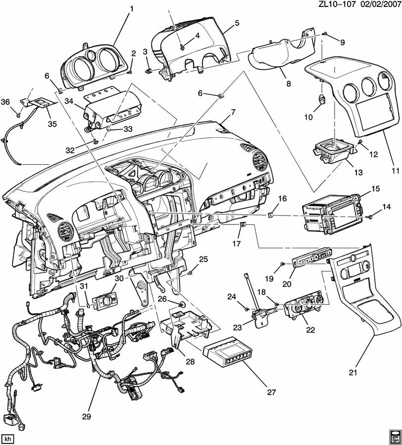 ford fusion fuel filter location