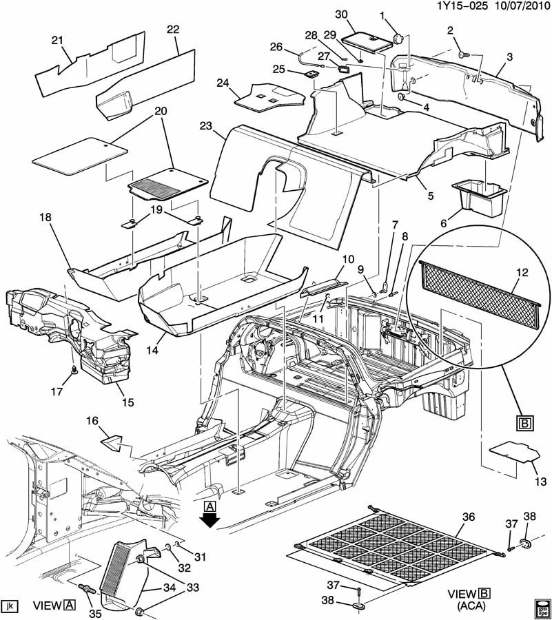 corvette drivetrain diagram