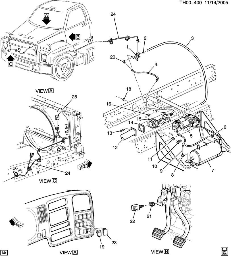 chevy kodiak gmc topkick chevy on gmc 4500 topkick wiring diagrams jake exhaust control brake switch topkick kodiak factory oem parts moreover gmc 4500 topkick wiring diagrams together