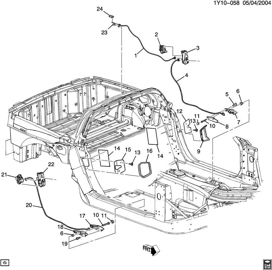 Corvette Original Parts Factory Oem Parts