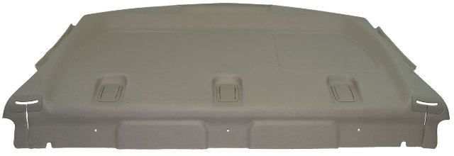 2010 2012 Buick Lacrosse Rear Seat To Back Window Interior